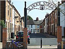 SK5319 : School Street by Thomas Nugent