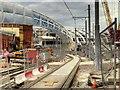 SJ8498 : Victoria Station Refurbishment - October 2014 by David Dixon