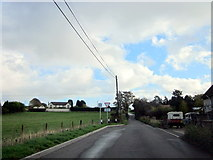 SO9575 : Mill Lane Wildmore by Roy Hughes