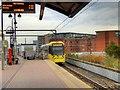 SJ8297 : Tram on Test, Cornbrook by David Dixon