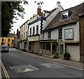 ST9387 : Derelict shops in Malmesbury by Jaggery