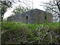 TF3539 : Pillbox on an old sea bank at Wyberton Marsh ; photo 2 of 3 by Richard Humphrey