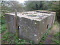 TF3539 : Pillbox on an old sea bank at Wyberton Marsh ; photo 3 of 3 by Richard Humphrey