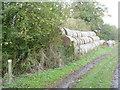 SU2595 : Straw stack by Michael Dibb
