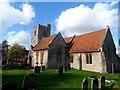 SP7311 : St Nicholas' church, Cuddington by Bikeboy