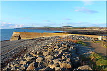 NX3343 : Harbour Quay at Port William by Billy McCrorie
