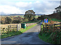 NY5356 : Cul de sac road down to Greenwell by Oliver Dixon