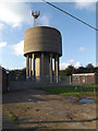 TM1990 : Long  Stratton Water Tower by Adrian Cable