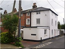 SU3521 : Junction of Mill Lane and Church Lane, Romsey by David960