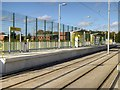 SJ8089 : Metrolink Manchester Airport Line, Moor Road Stop by David Dixon