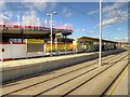 SJ8287 : Metrolink Airport Line, Wythenshawe Town Centre by David Dixon