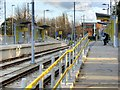 SJ8386 : Peel Hall Tram Stop, Metrolink Manchester Airport Extension by David Dixon