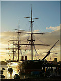 SU6200 : HMS Warrior by Peter Trimming