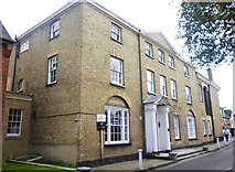 SU3521 : 18th century house in Church Street, Romsey by David960