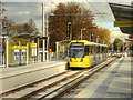 SJ8292 : Metrolink Airport Line, Barlow Moor Road by David Dixon