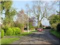SK7890 : Vicarage Lane by Alan Murray-Rust