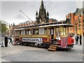 SJ8398 : World War I Recruiting Tram, Manchester Albert Square by David Dixon