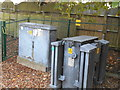 TQ1687 : Power transformer in Northwick Park by David Howard