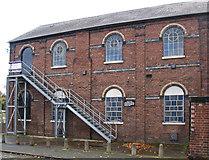 SO9596 : Bilston - Methodist Chapel - Lewis Street frontage by Dave Bevis