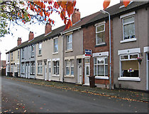 SO9596 : Bilston - terrace on Lewis Street - from west by Dave Bevis