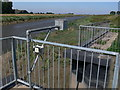"""TF2930 : The """"George Hay"""" Sluice along the River Welland by Mat Fascione"""