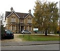 ST9063 : Boarded up building on the south side of Spa Road, Melksham by Jaggery