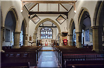 TQ4412 : Interior, St Mary the Virgin church, Ringmer by Julian P Guffogg