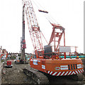 TQ7409 : Bridge replacement works by Oast House Archive