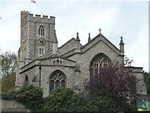 TQ2475 : Fulham, All Saints by Dave Kelly