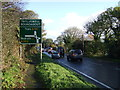 SW7636 : Approaching Treluswell Roundabout by JThomas