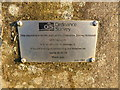 SK9813 : Trig point S8696: GPS network notice by Bob Harvey