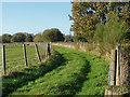 SU9961 : Field access track by Alan Hunt