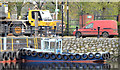"J3473 : The ""Cranagh Star"", River Lagan, Belfast - November 2014(2) by Albert Bridge"