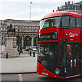 TQ3080 : New Routemaster, Admiralty Arch by Oast House Archive