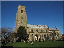 TG2834 : St Botolph's church, Trunch by Matthew Chadwick