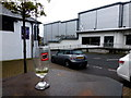 H3497 : Abandoned drinking glass, Strabane by Kenneth  Allen
