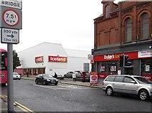 J3574 : Iceland in Newtownards Road, Inner East Belfast by Eric Jones