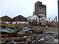 H4374 : Demolition, Nestles Factory by Kenneth  Allen