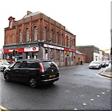 J3574 : Newtownards Road at its junction with Dee Street by Eric Jones
