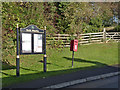 SK7585 : North Wheatley, Top Street postbox ref DN22 210 by Alan Murray-Rust