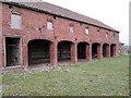 SE9062 : Disused  barns  at  Towthorpe  Grange by Martin Dawes