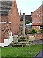 SK7390 : Gringley Village Cross by Alan Murray-Rust