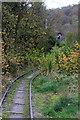 SJ3702 : Snailbeach Mine - former railway by Chris Allen