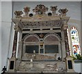 SP8822 : Monument to Sir William and Dame Dorathe Dormer by Rob Farrow