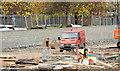 J3272 : The new South Stand, Windsor Park, Belfast - November 2014(1) by Albert Bridge