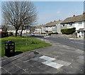 SS9177 : Ysbwriel is Welsh for litter, Corntown by Jaggery