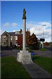 NT5247 : The War Memorial at Lauder by Ian S
