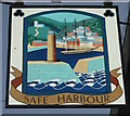 SX1251 : Sign for the Safe Harbour, Fowey by JThomas
