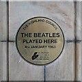 Photo of The Beatles bronze plaque