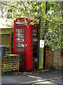 TM2179 : Telephone Box on Scole Road by Geographer